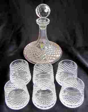 12: Waterford Decanter and Glasses