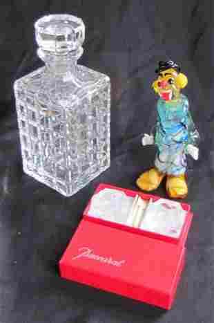 15: Three Art Glass Items