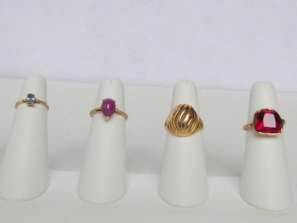 79: Ladies Rings Lot.