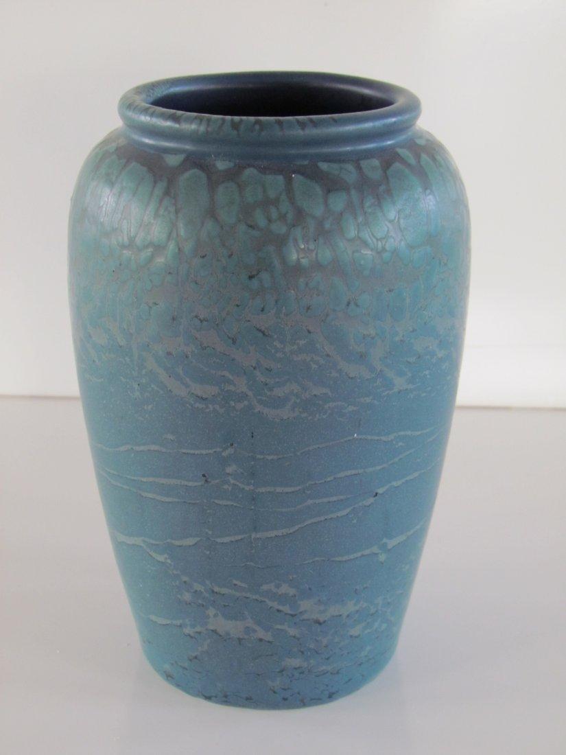 Hampshire Pottery Vase Matte Blue