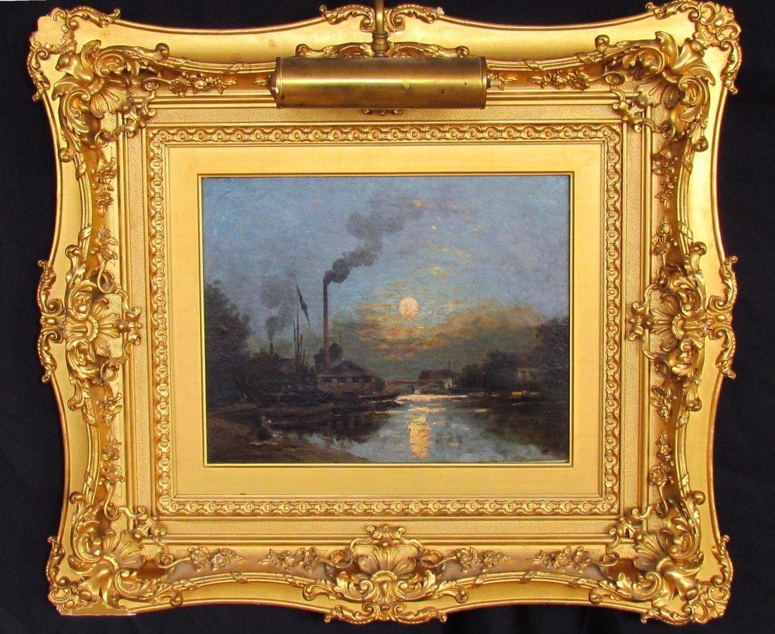 Stanislas Lépine (1835-1892) Original Oil Painting