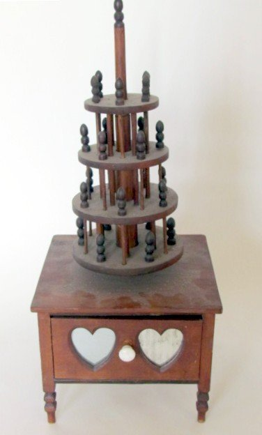 Sewing Box with Hearts