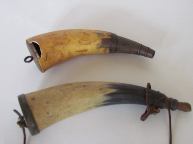 Two Powder Horns