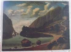 Hudson River School Painting