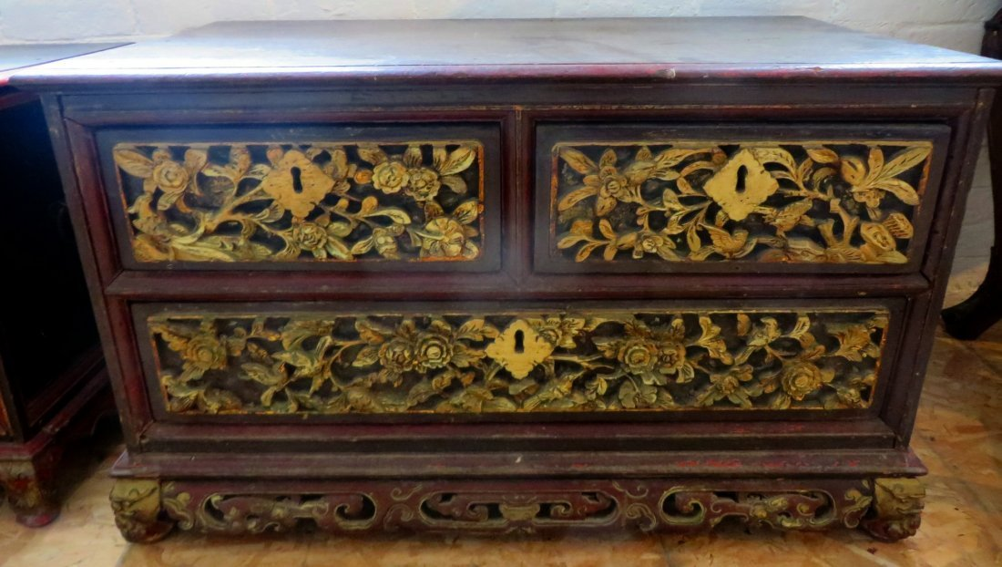 Early Chinese Straits Chest 18th / ealry 19th Century