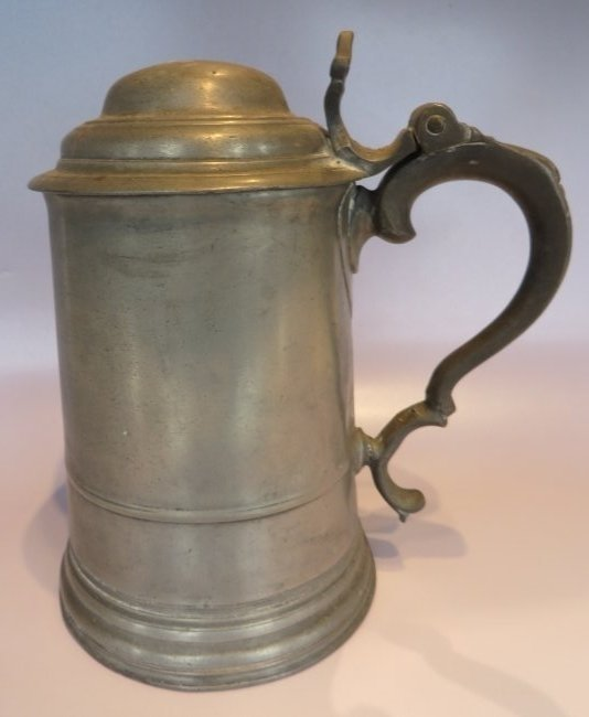 Antique Pewter Stein