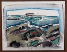 John Marin (1870-1953) Original Watercolor 1928