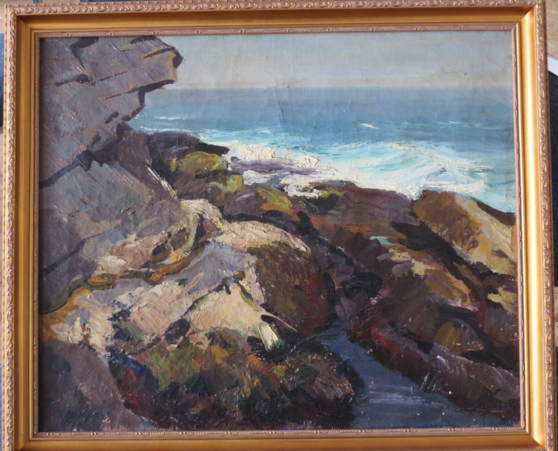 Abraham Jacob Bogdanove  (1887 - 1946) Oil on Canvas