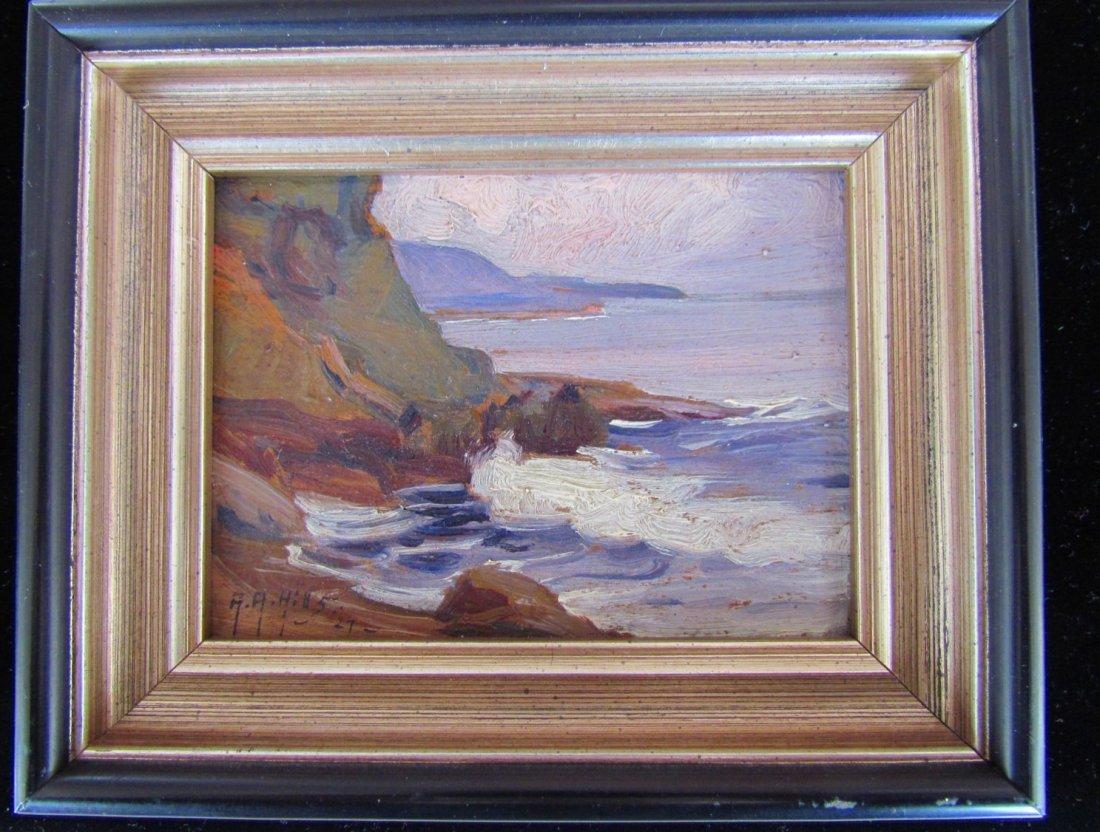 Anna Althea Hills  (1882 - 1930) Oil on Board