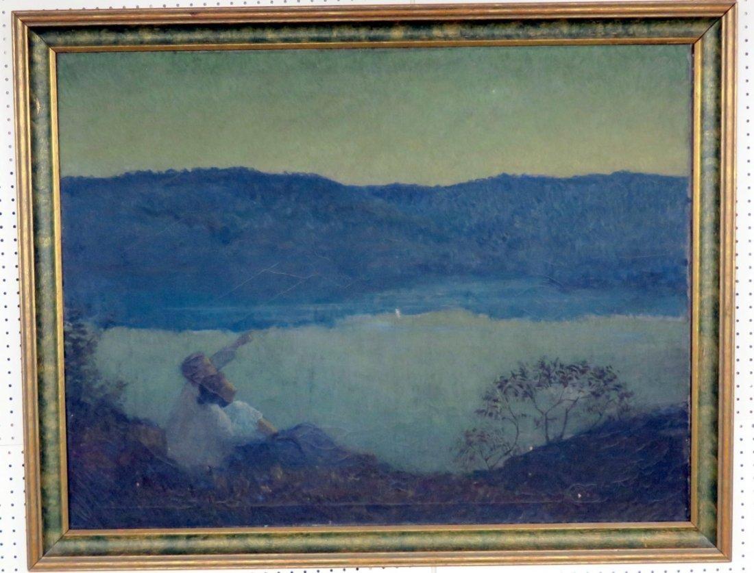 Large Landscape Oil on Canvas