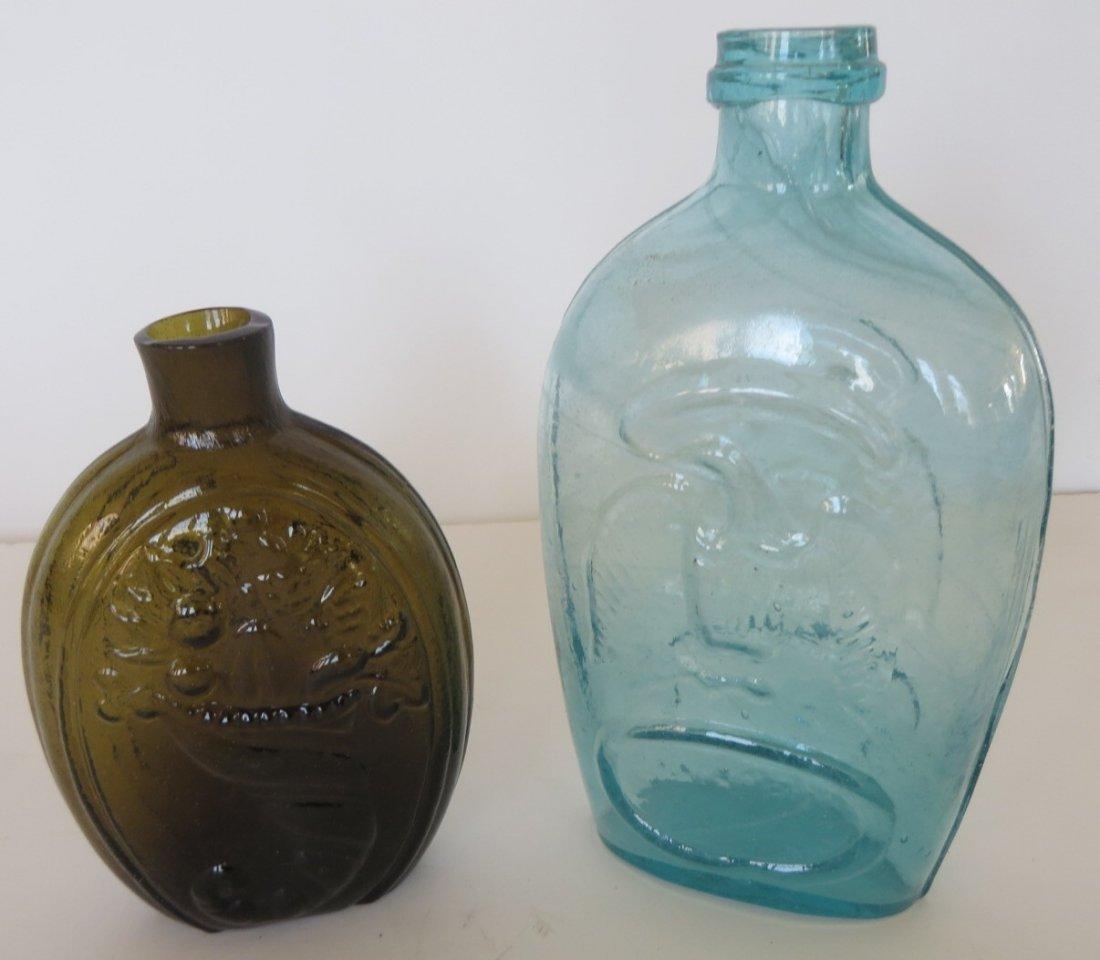 Two Antique Flasks