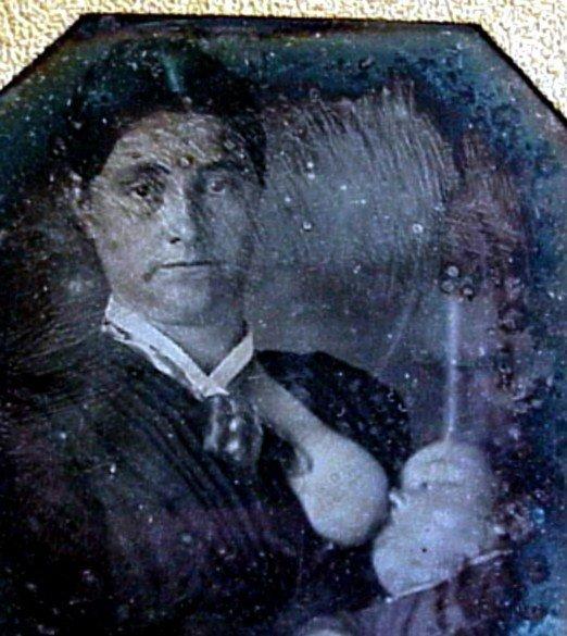 6: Daguerreotype of a Woman Breastfeeding