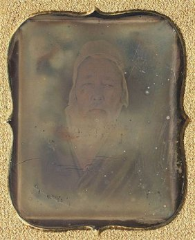 Rare Asian Daguerreotype