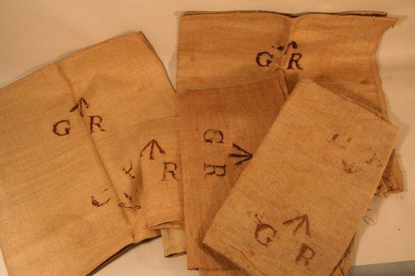 9: George Rex bags Taken from British Navy Ship