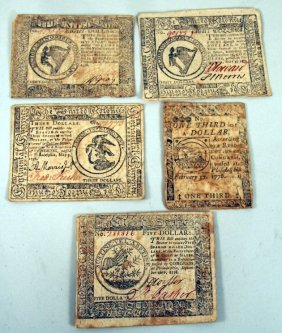 Group Colonial Currency