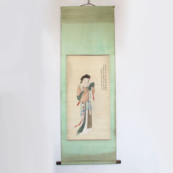 Chinese Qing Dy Artist Fei Danxu 費丹