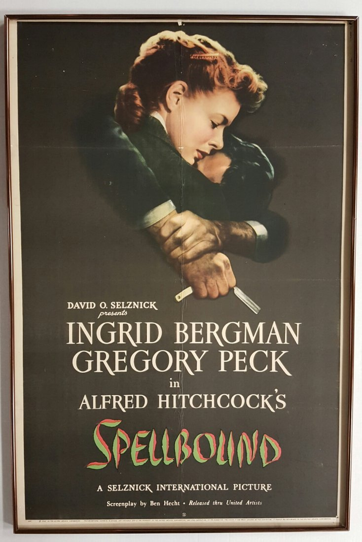 Spellbound (United Artist, 1945) One Sheet Movie Poster