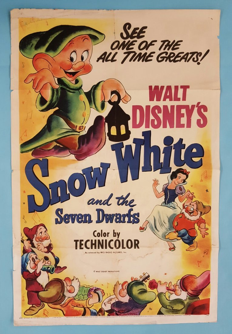 Snow White and the Seven Dwarfs (1951) Movie Poster
