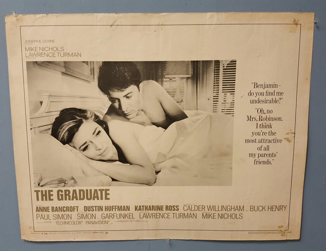 The Graduate (1968) Half Sheet Movie Poster