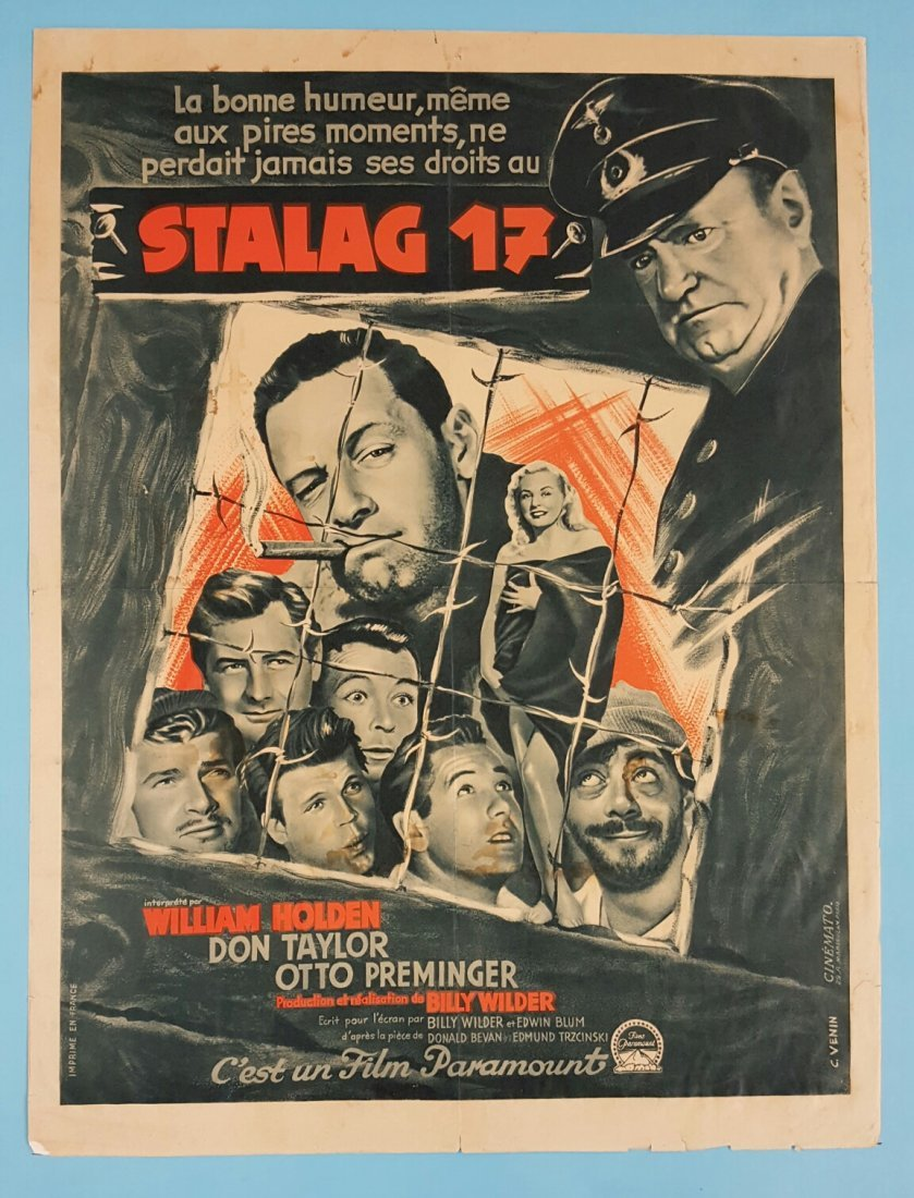 "Stalag 17 French (1953) 23.5"" x 31.5"" Movie Poster"