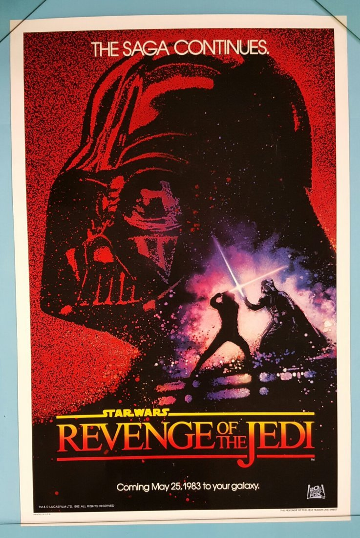 Revenge of the Jedi (1982) One Sheet Movie Poster