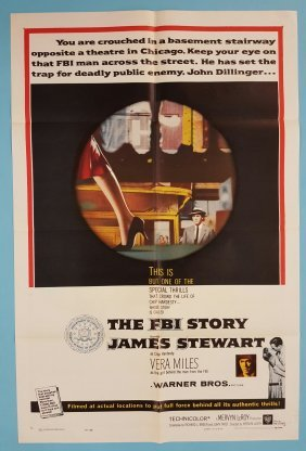 The FBI Story (1959) One Sheet Movie Poster