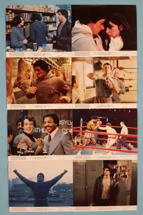 "Rocky set of 8 (8""x10"") mini Movie Lobby Cards"