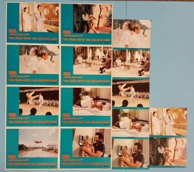 The Man With The Golden Gun 2 sets of Lobby Cards