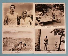 Dr. No 1962 Set of 4 Movie Stills
