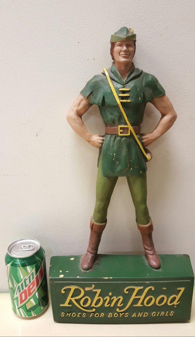 Vintage Robin Hood Shoe Store Display