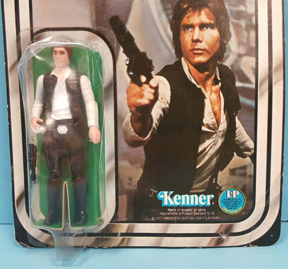 Star Wars Han Solo original Kenner 12 back figure - 5