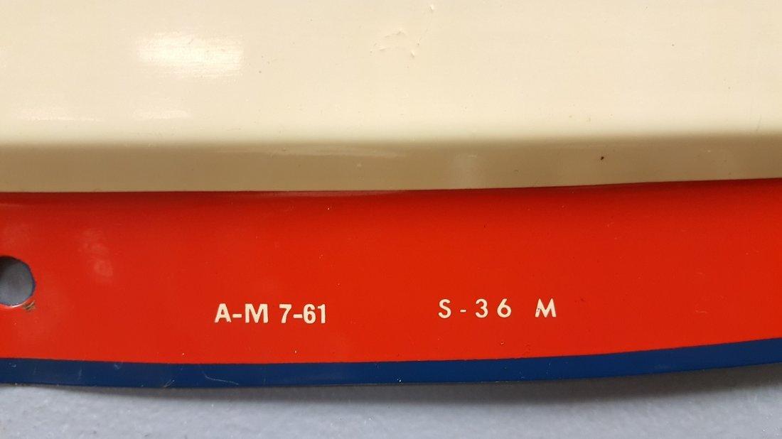 1961 NOS PET Homogenized Milk Dome Sign - 2