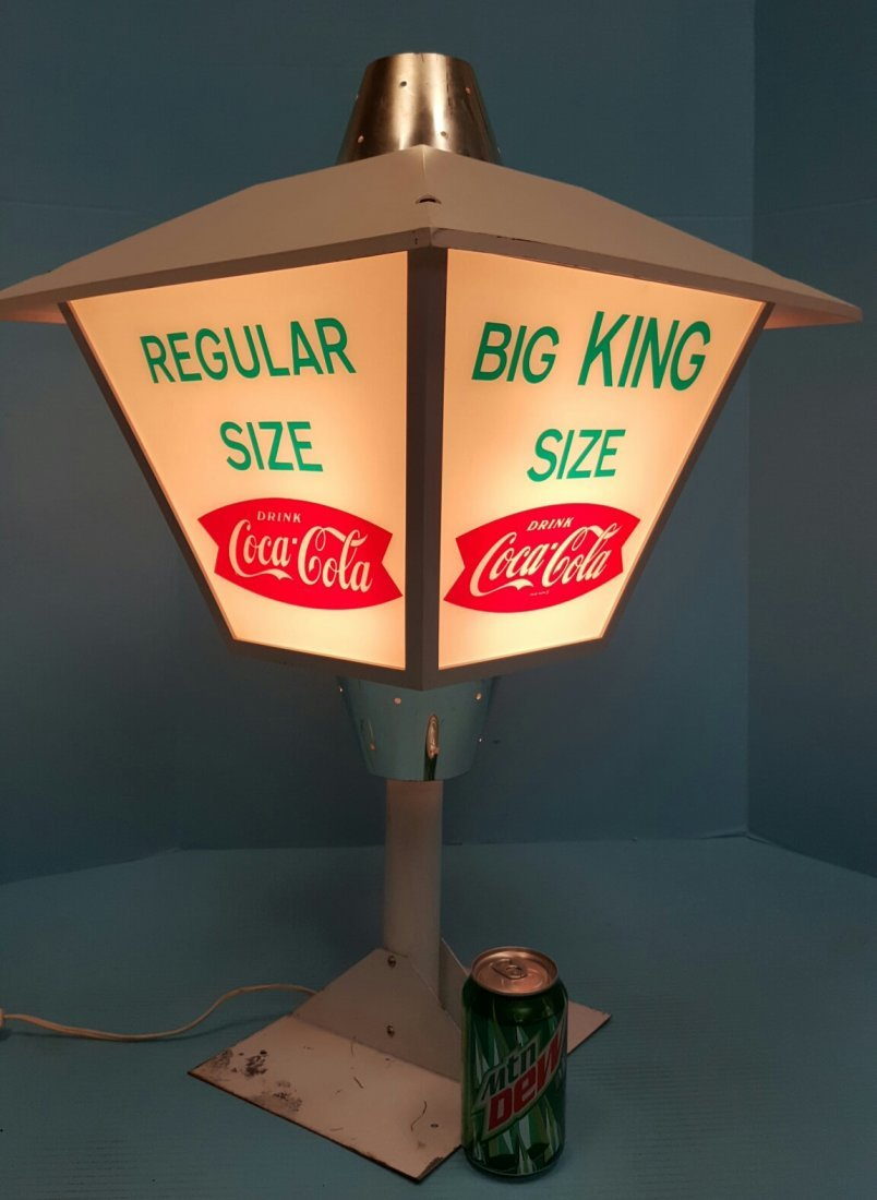 Rotating Coca Cola Light