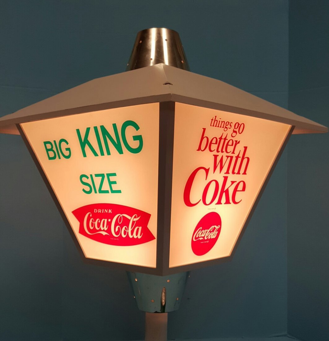 Rotating Coca Cola Light - 2