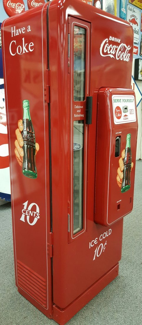 Coca Cola Cavalier 96 Vending Machine