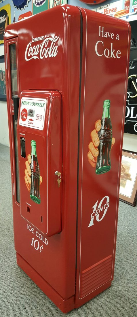 Coca Cola Cavalier 96 Vending Machine - 3