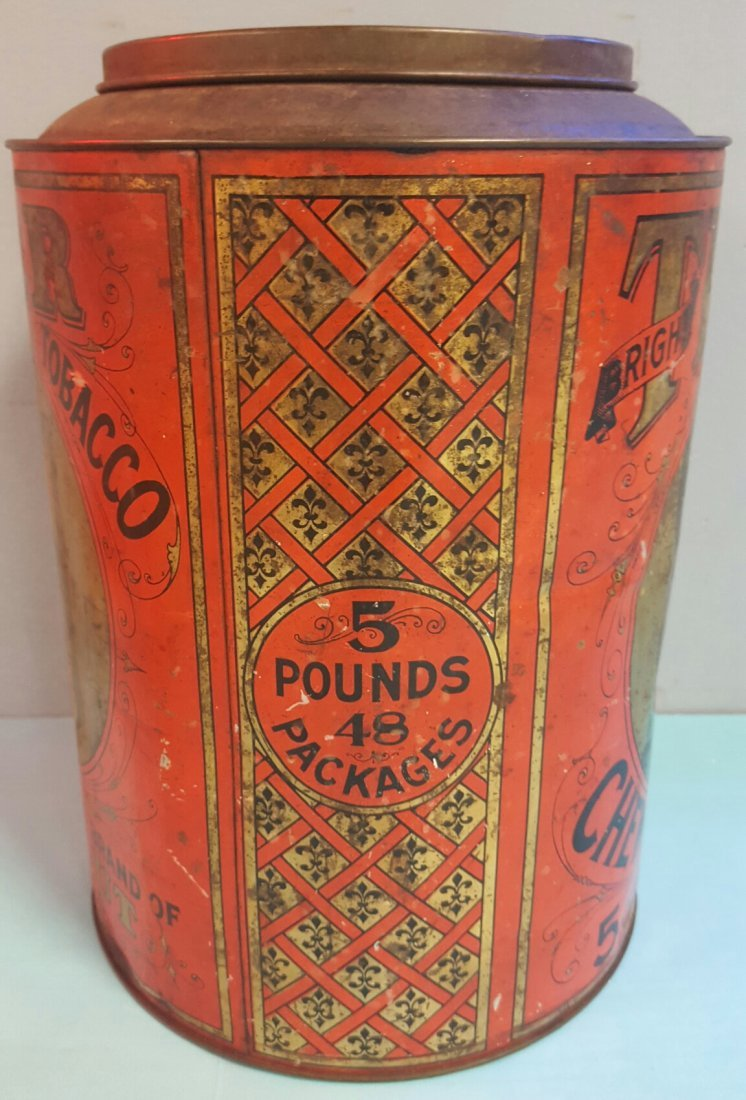 Tiger Chewing Tobacco Tin - 3