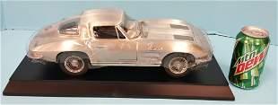 Franklin Mint Pewter 1963 Corvette