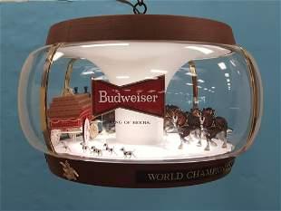 Budweiser Rotating Advertising Light