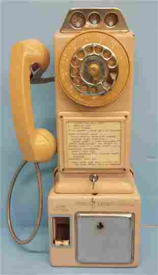 Champagne Pay Phone