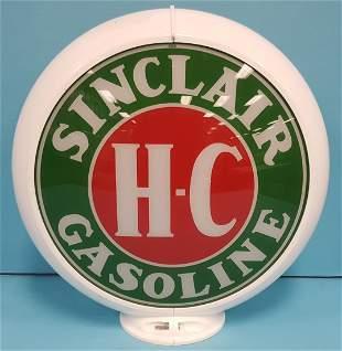2000 Sinclair Gas pump globe w/ plastic body