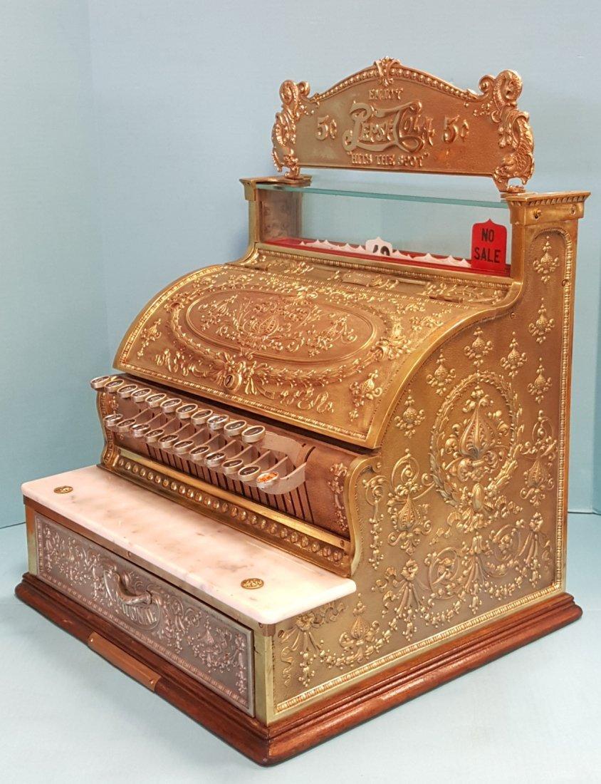 Brass National Cash Register - 2