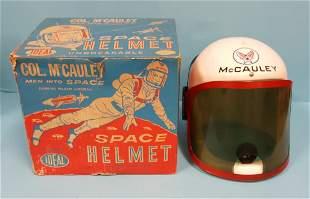 Col. McCauley Space Helmet with Original Box