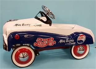 NOS Pepsi Cola Pedal Car with Box