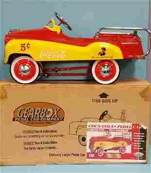 Coca Cola Pedal Car with original box