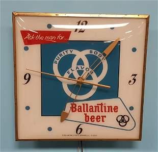 Ballantine Beer Light up Clock