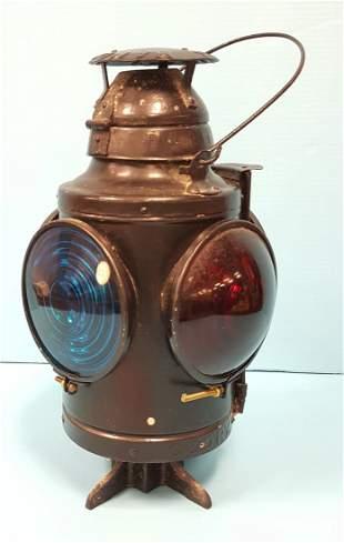 Railroad  four way lantern