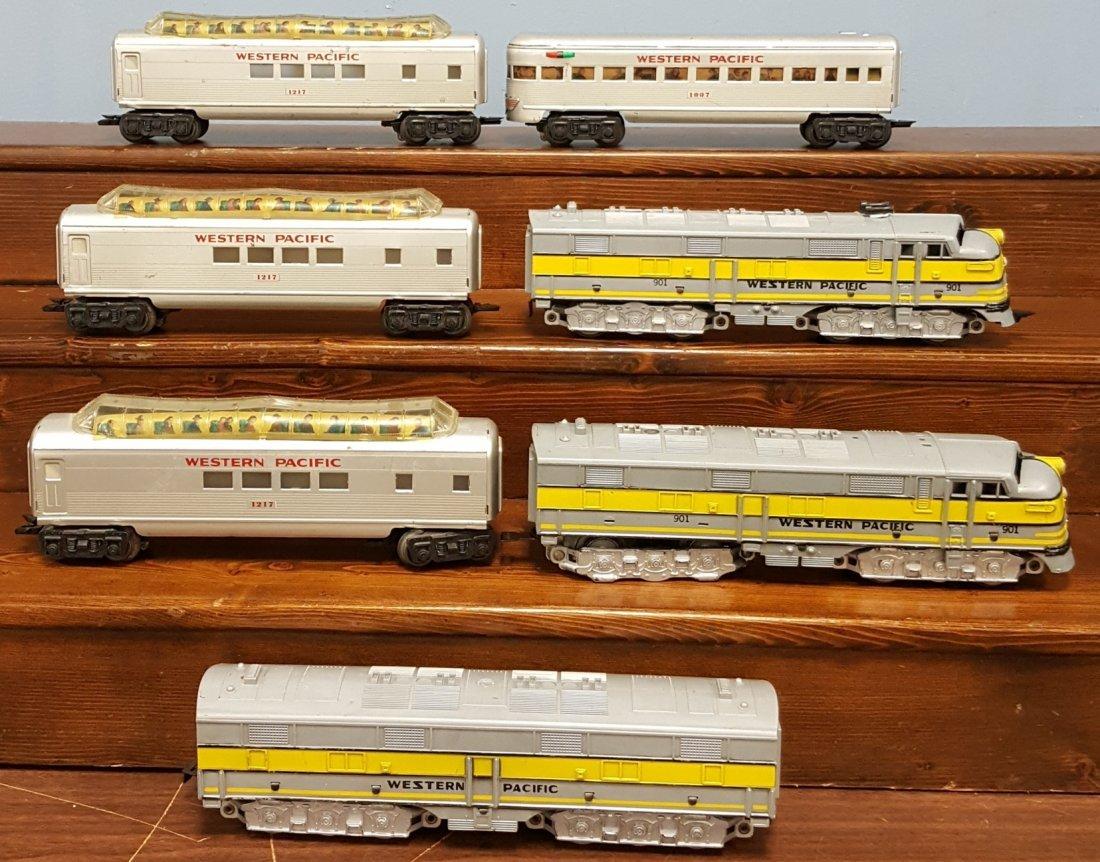 Marx Western Pacific 7pc. Train Set w/ Engine #901