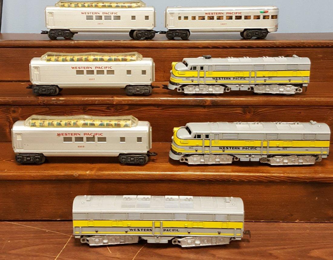Marx Western Pacific 7pc. Train Set w/ Engine #901 - 2