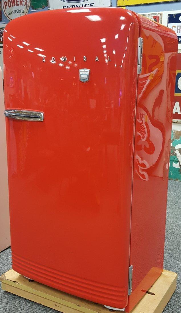 Original 1950's Vintage Admiral Refrigerator